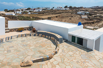 Panorama | Rooms to Let Folegandros | Exterior View