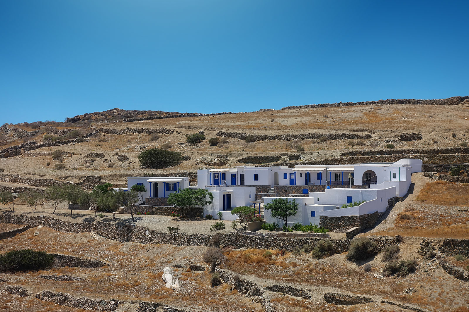 Panorama | Rooms to Let Folegandros
